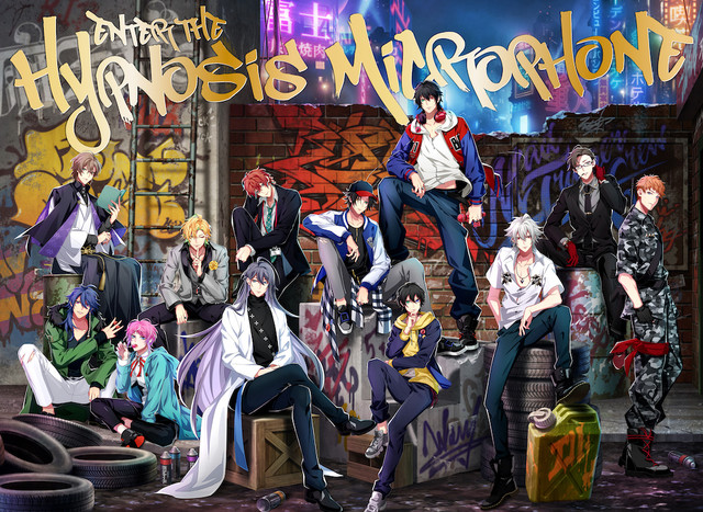 「Enter the Hypnosis Microphone」初回限定LIVE盤のジャケット。